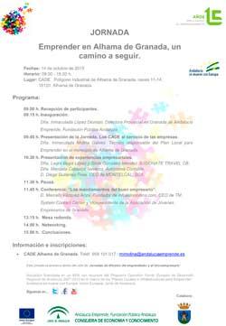 Cartel_jornada_emprender_AlhamadeGranada_web