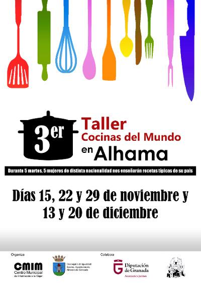 El pr ximo 15 de noviembre comienza el iii taller cocinas - Cocinas el barco granada ...